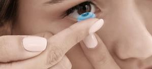 Kontaktlinsen + Kosmetik